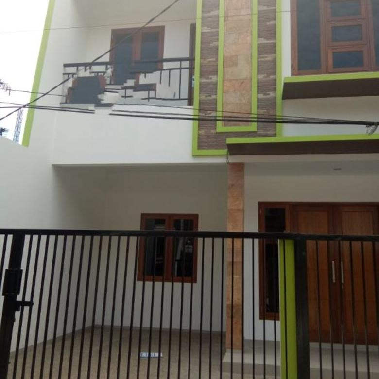 Rumah Brand New di Kayu Putih Selatan Jalanan 2 Mobil Bebas Banjir