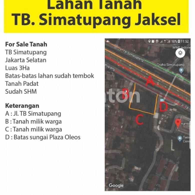 Tanah Dijual Jakarta Selatan