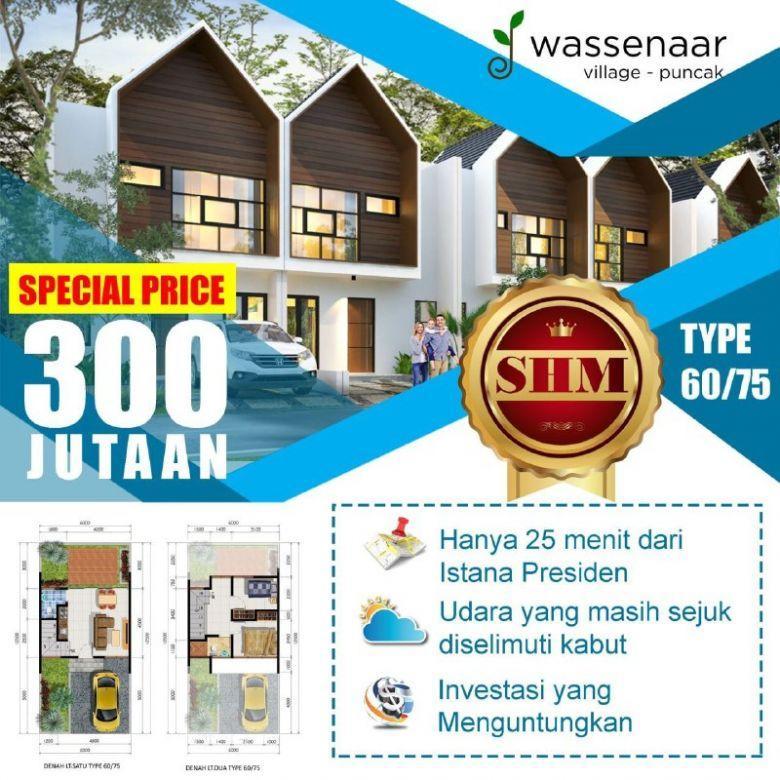 Dijual Villa Murah 2 Lantai Harga Perdana Di Kawasan Puncak