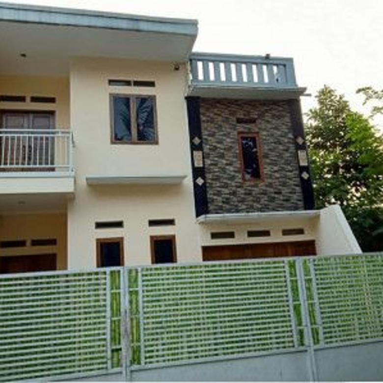 rumah sederhana dua lantai siap huni cipayung, jakarta timur