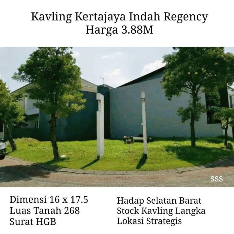 Tanah Kavling Kertajaya Indah Regency Surabaya Langka Strategi