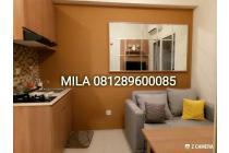 SEWA BULANAN Full Compact Furnished Di Apartemen Green Pramuka City