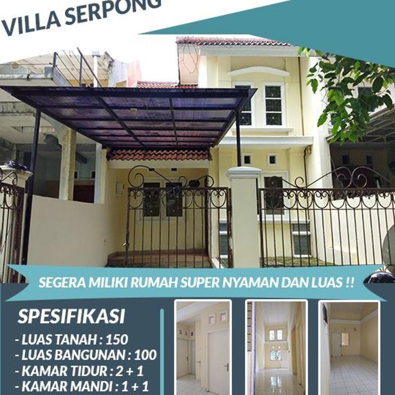 JUAL MURAH ! Rumah  di Villa Serpong Lokasi strategis