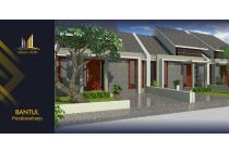 Rumah Dijual Siap Bangun Desain Mewah Harga Murah di Bantul