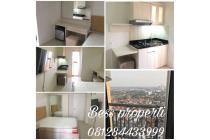 Dijual apartemen bassura city, alamanda type studio furnished baru