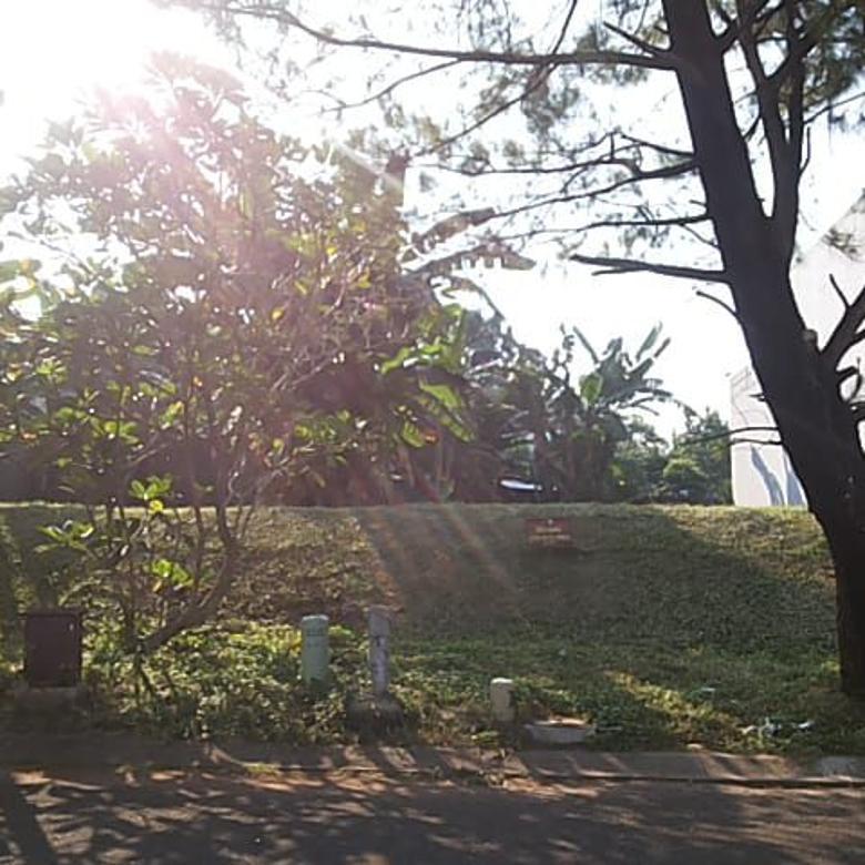 Dijual kavling badan Taman Giriloka BSD City - Luas Murah