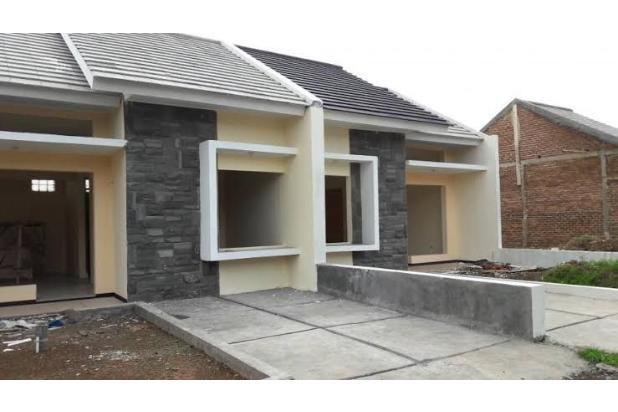 rumah modern minimalis dengan sistem cluster bebas biaya kpr 100