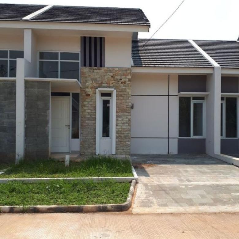 Rumah cluster yang asri dan nyaman dekat pintu tol tambun