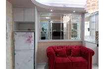 Disewakan apartemen bassura city, geranium lt.30 full furnished
