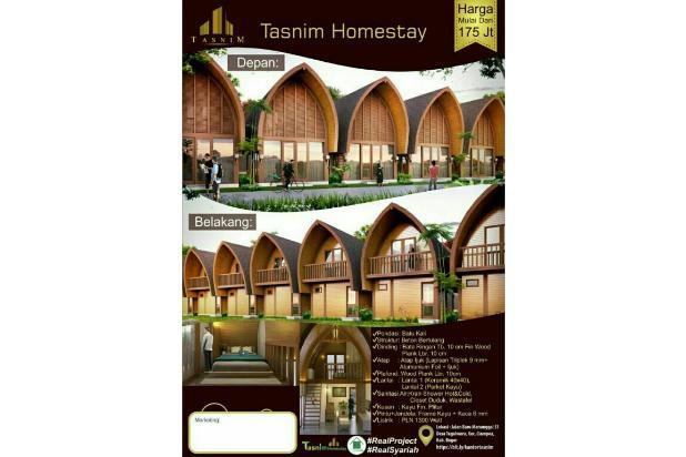 villa islami di kawasan wisata waru farm land