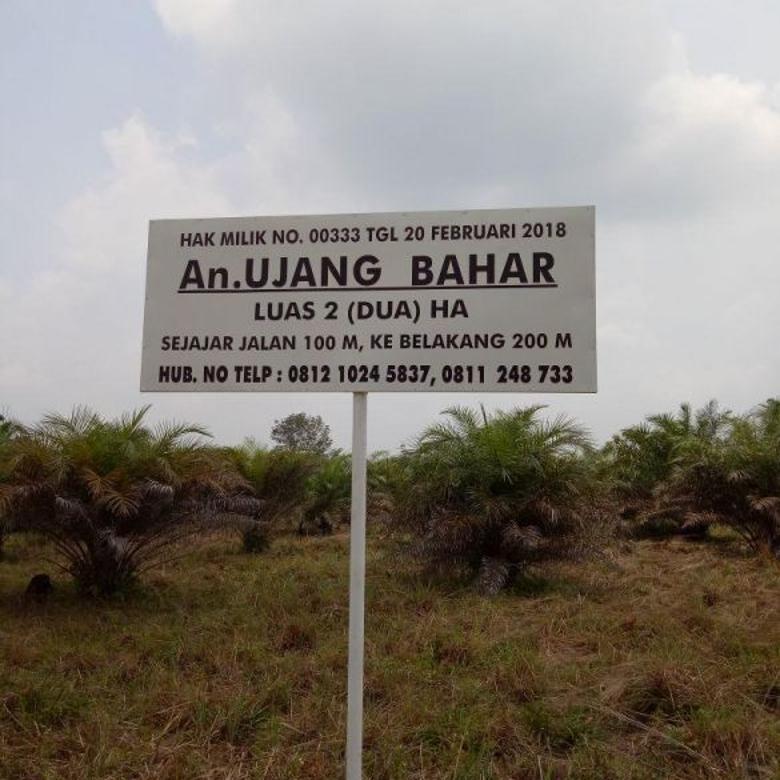 Tanah buat Investor dan Pengusaha lokasi strategis harga bersa