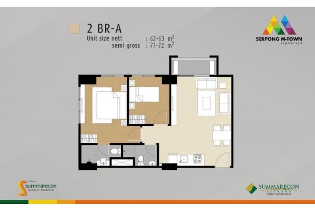 Dijual Apartemen M Town Signature Investasi Menguntungkan di Gading Serpong 16412110