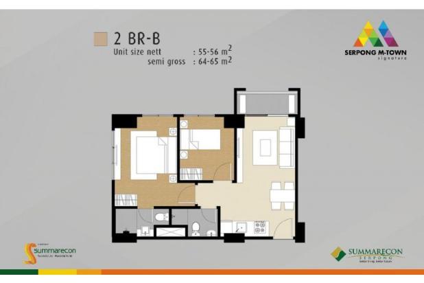 Dijual Apartemen M Town Signature Investasi Menguntungkan di Gading Serpong 16412133