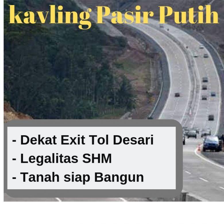 Tanah Kavling Sawangan  Dekat Exit Tol Desari