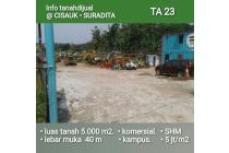 Dijual Tanah Lokasi Strategis di Suradita Cisauk, Tangerang