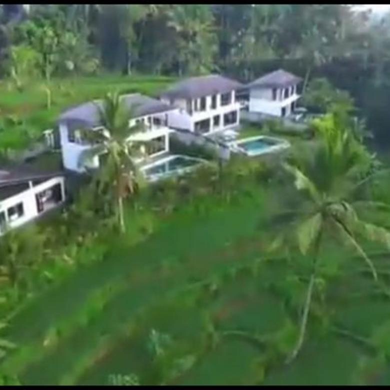 Dijual Villa Nyaman Luxury View Sawah di Tegallalang, Gianyar