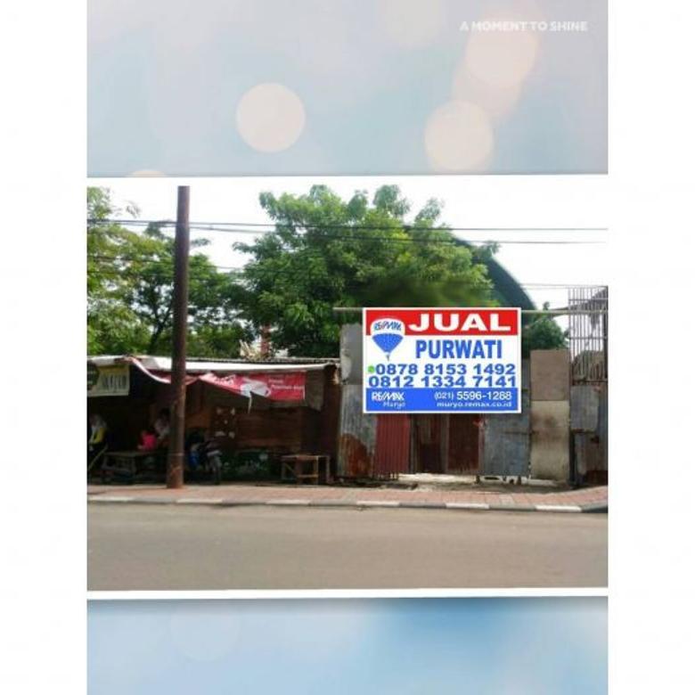 Kavling Pinggir jalan raya Cendrawasih Cengkareng