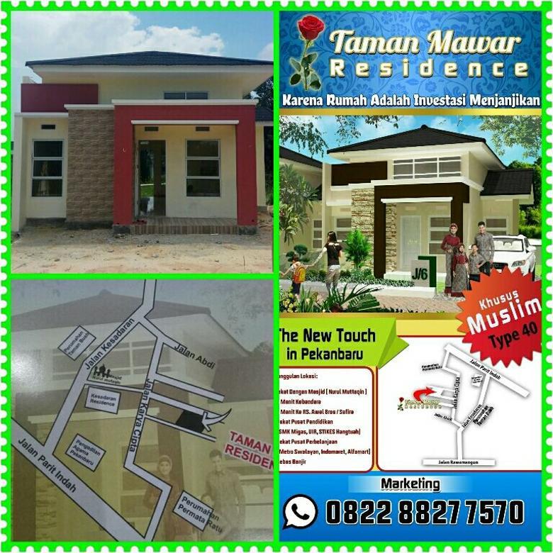 perumahan minimalis di tengah kota pekanbaru