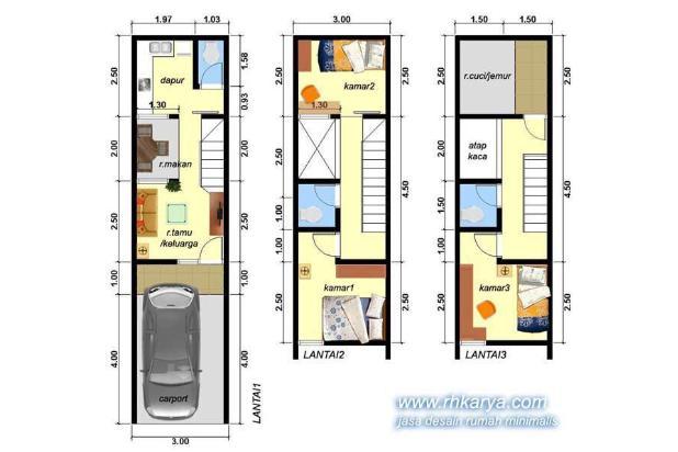 Rumah murah di Jakarta pusat cm 800jutaan 13781314