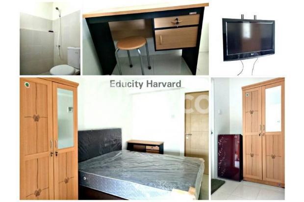 Dijual CITIHOME - Apartemen Educity Harvard Simple Furnish Studio 14316751