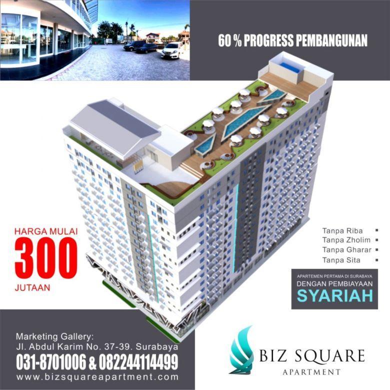 Cicilan 100 ribu Perhari Apartemen Biz Square Surabaya