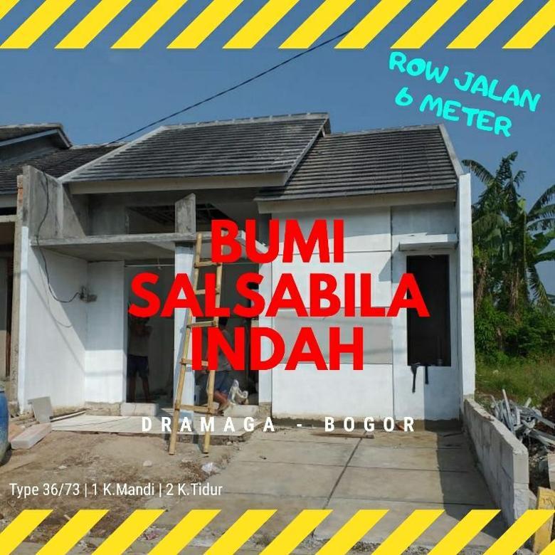 Rumah Row Jln 6 M Bumi Salsabila Indah Type 36/73 Bogor