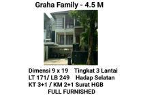 Rumah Graha Family Surabaya Mewah Elite Aman Full Furnished