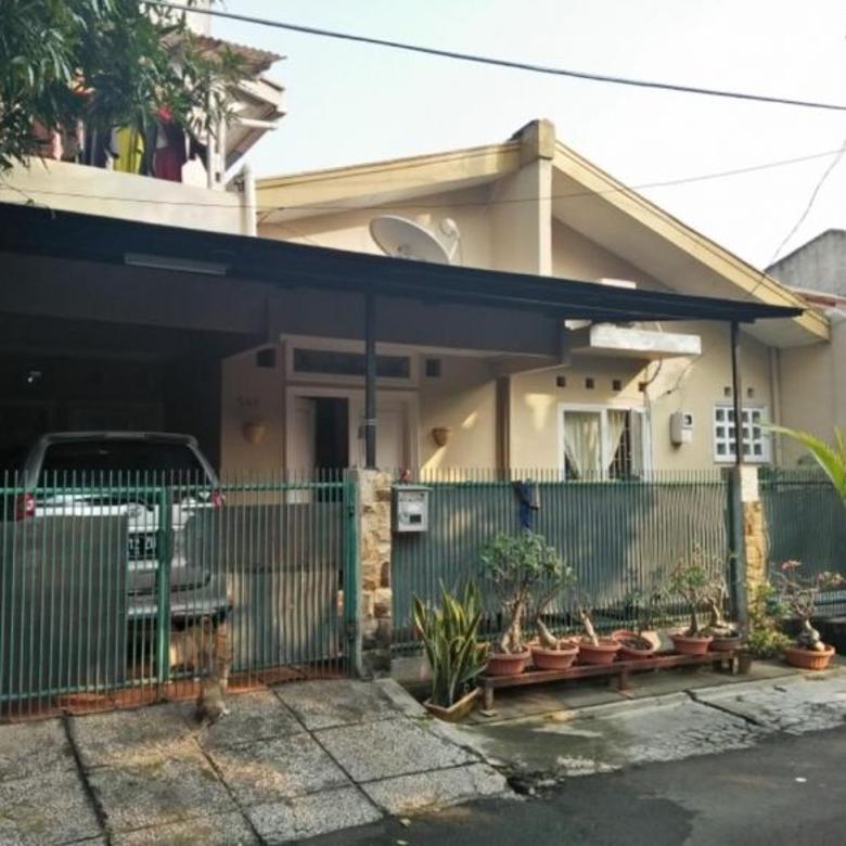 Rumah 1.5, Semi Furnished dibelakang Living Plaza, MEGA CINERE