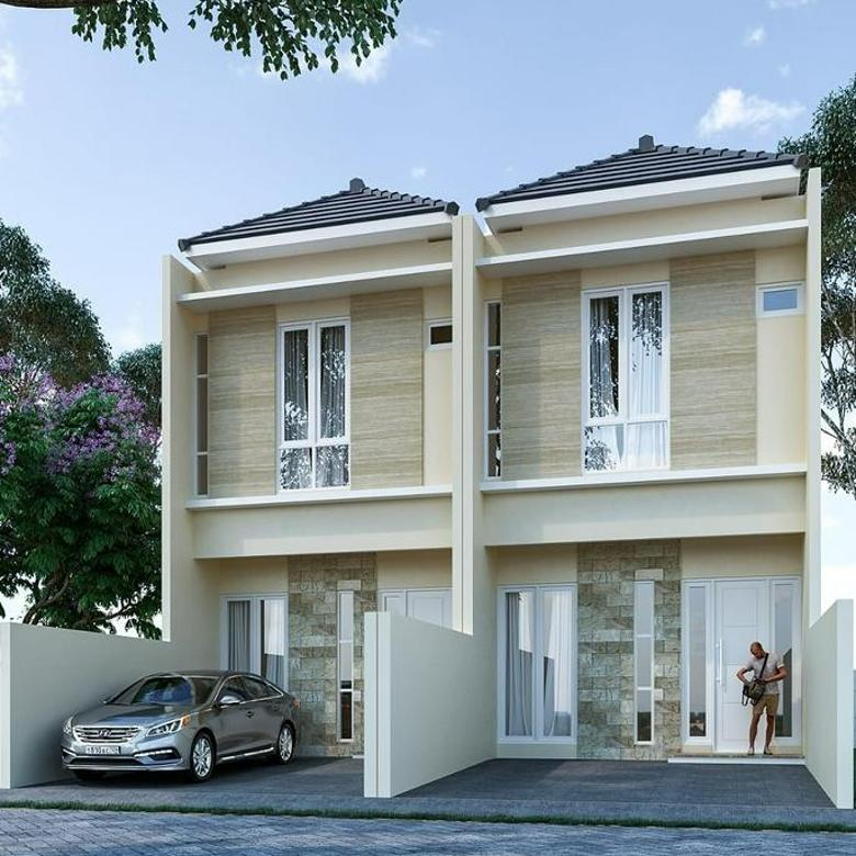 Rumah Modern Minimalis Nirwana Eksekutif BB, Rungkut