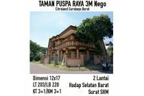 Taman Puspa Raya Citraland Surabaya Barat  Harga 3,M Nego