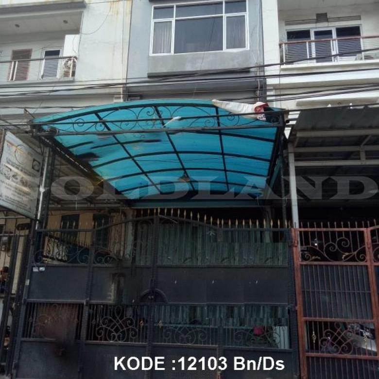 KODE :12103(Bn/Ds) Rumah Dijual Mangga Besar, Luas 4x15,5