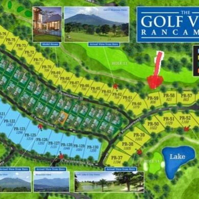 Turun Harga !!! Dijual Kavling di Rancamaya Golf Estate Bogor