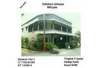 Dijual rumah kos aktif murah sidokare sidoarjo surabaya