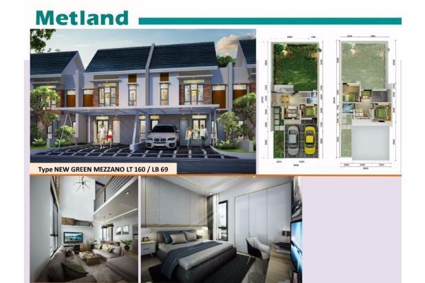 Rumah Baru Green Mezzano Metland Menteng Cakung, Jakarta Timur 14418630