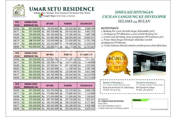 Rumah Exclusive Fasilitas Lengkap di Lokasi Strategis Bekasi Hanya 267 Juta 13426375
