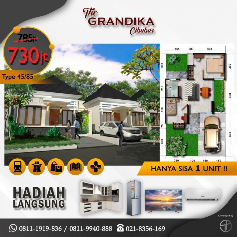 Dijual Rumah Murah Strategis di The Grandika Bekasi