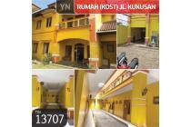 Rumah (Kost) Jl. Kukusan, Depok, 1206,5 m², 2 Lt, SHM