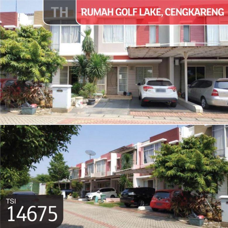Rumah Golf Lake, Cluster Victoria Hills, Cengkareng Jakarta Ba