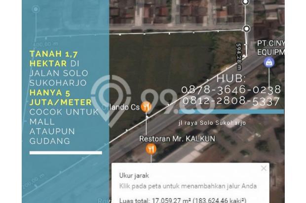 BISA DIAMBIL MIN 1 HEKTAR, 0812-2808-5337, Jual Tanah di Telukan 1,7 Ha 14907593