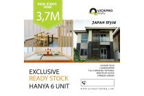 Konsepp Jepang! Rumah 2 Lantai Modern di Karawang