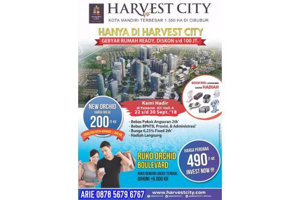 harvest city ruko harga perdana cibubur bekasi