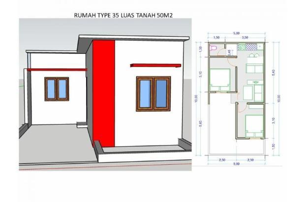Rp395jt Rumah Dijual