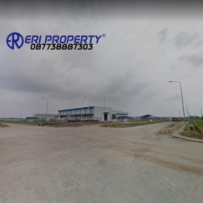 Tanah Industri 12,7 Hektar Jalan Utama Modern Cikande 1,7 Juta