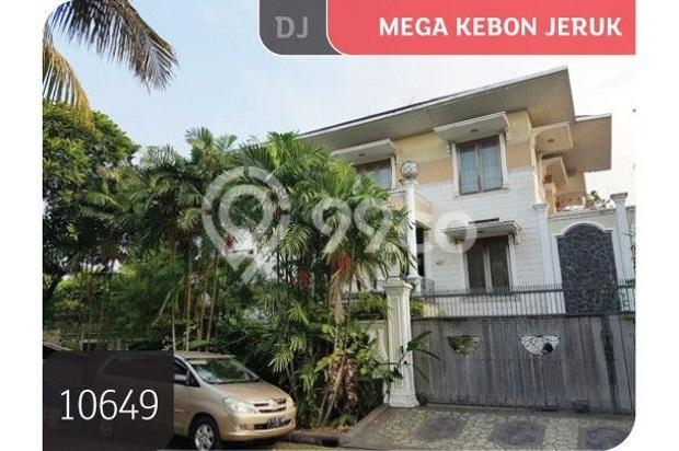 Rumah Mega Kebun Jeruk, Puri Botanical, Jakarta Barat, 20x20m, 2 Lt 6727884