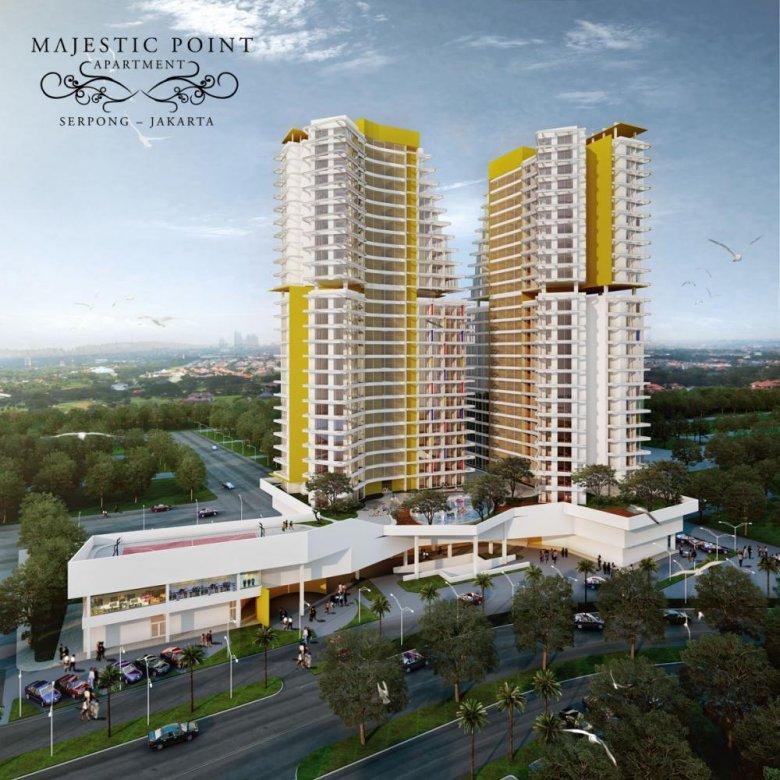 DiJual Apartemen Majestic Point, Serpong
