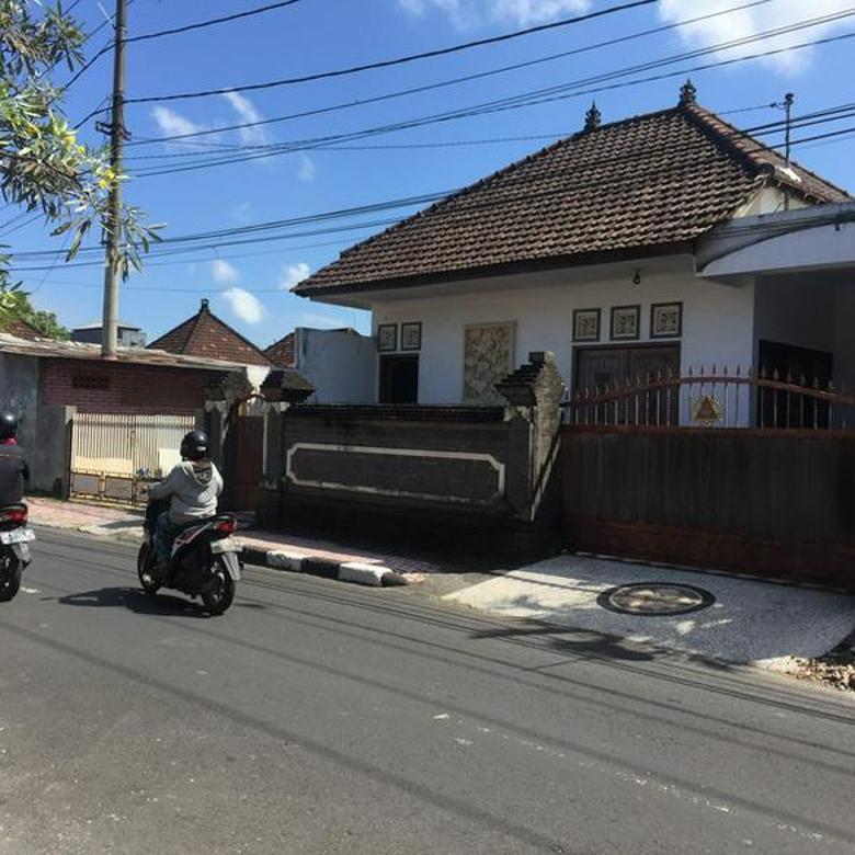 Tanah dan Bangunan di Jalan Kresna, Denpasar Utara