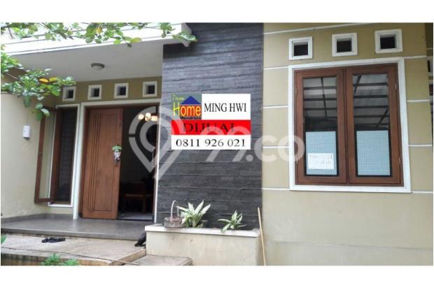 dijual rumah di villa melati mas lt lb 175 150 m2