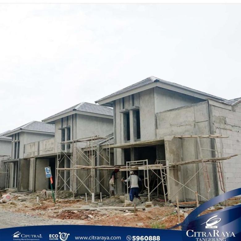Dijual Rumah Baru Nyaman di Certara Park Citra Raya, Tangerang
