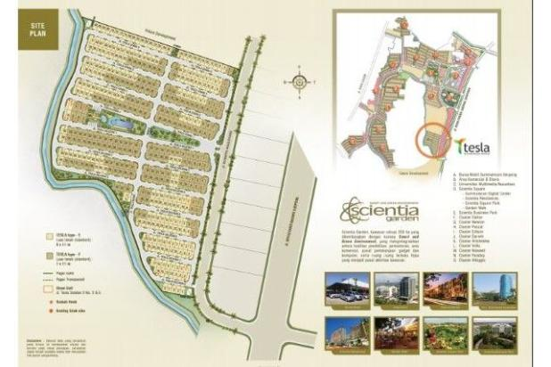 Dijual Rumah Strategis di Summarecon Serpong Culster Tesla Tangerang 6485036