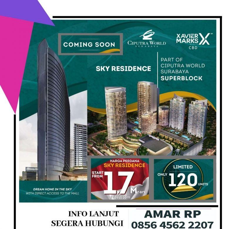 Coming Soon Apartemen Sky Residence Surabaya